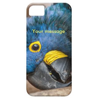かわいいHyacinthのコンゴウインコのオウムを特色にするiphone 5の場合 iPhone SE/5/5s ケース