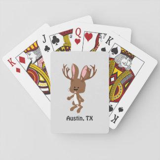 かわいいJackalope -オースティン、テキサス州 トランプ