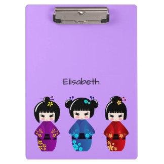 かわいいkokeshiの人形の漫画の名前 クリップボード