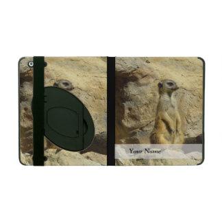 かわいいmeerkatの写真 iPad ケース