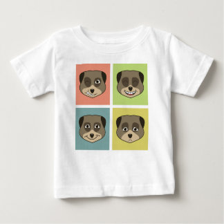 かわいいmeerketの表現 ベビーTシャツ