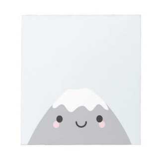 かわいいMt富士サン ノートパッド