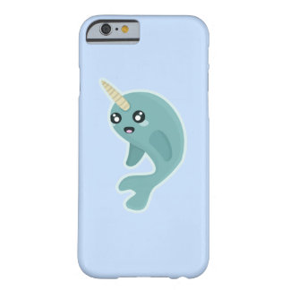 かわいいNarwhal Barely There iPhone 6 ケース