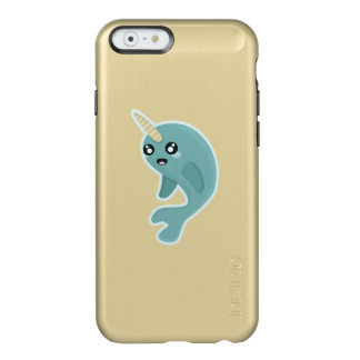 かわいいNarwhal Incipio Feather Shine iPhone 6ケース