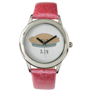 かわいいPi日3.14 腕時計