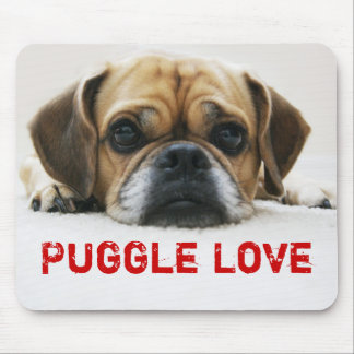 かわいいPuggle愛マウスパッド マウスパッド