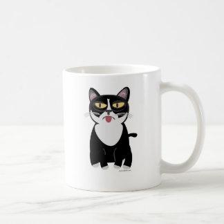 かわいいSourpussの漫画猫 コーヒーマグカップ