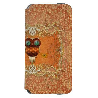かわいいsteampunkのフクロウ incipio watson™ iPhone 6 ウォレットケース