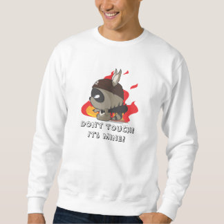 かわいいTシャツの海賊アライグマのマンガのキャラクタのティー スウェットシャツ