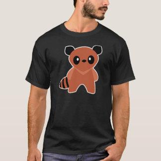 かわいいTanuki Tシャツ