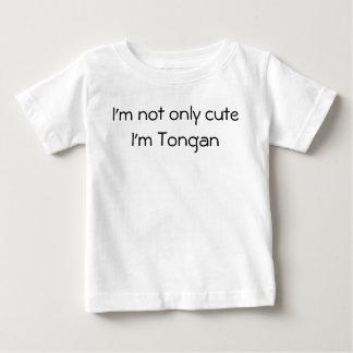 かわいいTonganワイシャツだけ ベビーTシャツ