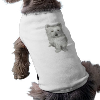 かわいいWestie犬ペット衣類 ペット服