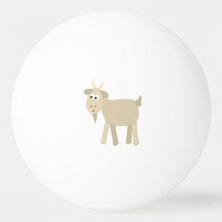 かわいくおもしろいで小さいヤギ 卓球ボール