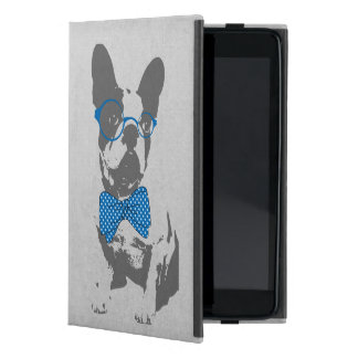 かわいくおもしろいで粋なヴィンテージの動物のフレンチ・ブルドッグ iPad MINI ケース