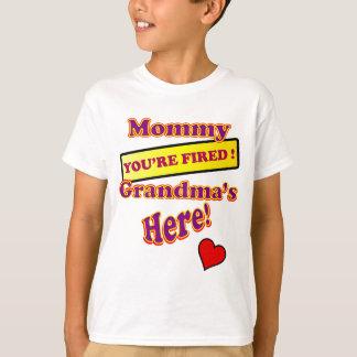 かわいくおもしろいなお母さん及び祖母 Tシャツ