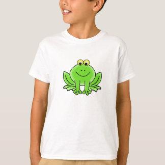 かわいくおもしろいなカエルのTシャツ Tシャツ