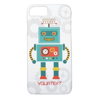 かわいくおもしろいなロボット空想科学小説のiPhone 7の場合 iPhone 8/7ケース