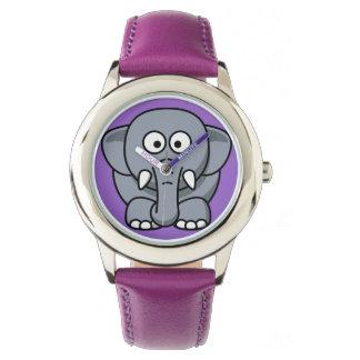 かわいくおもしろいな象の腕時計 腕時計
