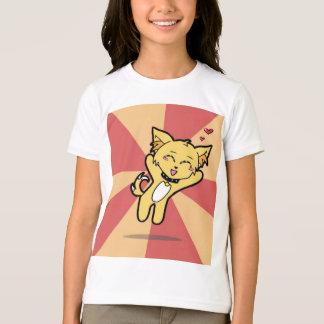 かわいくしかし恐い: Trixieの子犬 Tシャツ