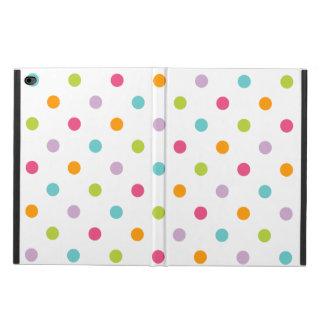 かわいくガーリーでカラフルな水玉模様 POWIS iPad AIR 2 ケース
