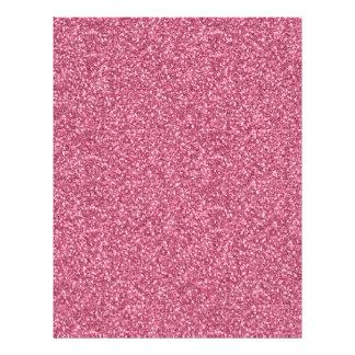 かわいくガーリーで粋な流行のフーセンガムのピンク チラシ