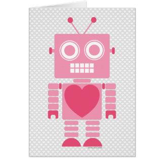 かわいくガーリーなロボット カード