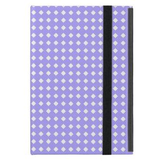 かわいくシンプルなタマキビの青および白いパターン iPad MINI ケース