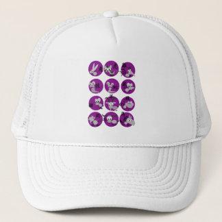 かわいく中国のな(占星術の)十二宮図はトラック運転手の帽子を設計します キャップ