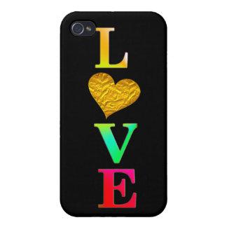 かわいく多彩な愛ハートiphone7カバーデザイン iPhone 4 case