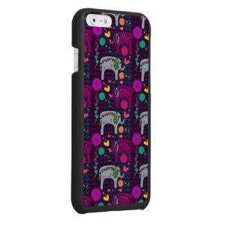 かわいく多彩な花のハート象パターン INCIPIO WATSON™ iPhone 6 財布ケース
