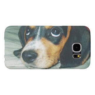 かわいく大きい目のビーグル犬の子犬 SAMSUNG GALAXY S6 ケース