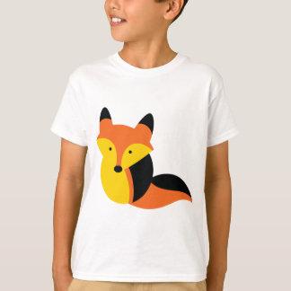 かわいく小さいキツネ Tシャツ