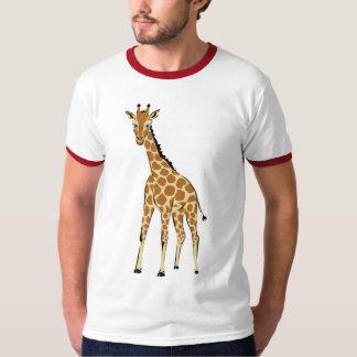 かわいく小さいキリン Tシャツ