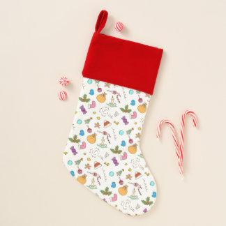 かわいく小さいクリスマスパターン2 クリスマスストッキング
