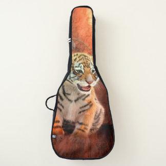 かわいく小さいトラのベビー ギターケース