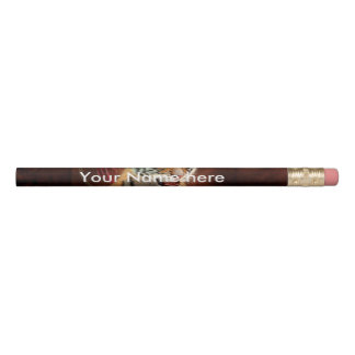 かわいく小さいトラのベビー 鉛筆