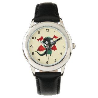 かわいく小さいドラゴン 腕時計