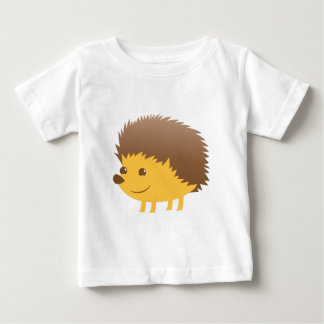 かわいく小さいハリネズミ ベビーTシャツ