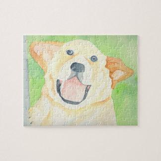 かわいく小さいピーナツビーグル犬のパズル ジグソーパズル