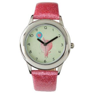 かわいく小さいブタ 腕時計