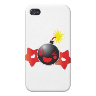 かわいく小さいブーム! 爆弾 iPhone 4/4S ケース
