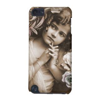 かわいく小さいヴィンテージの女の子 iPod TOUCH 5G ケース