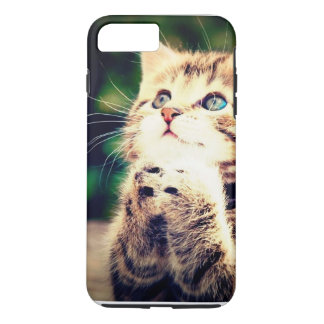かわいく小さい子ネコ iPhone 8 PLUS/7 PLUSケース