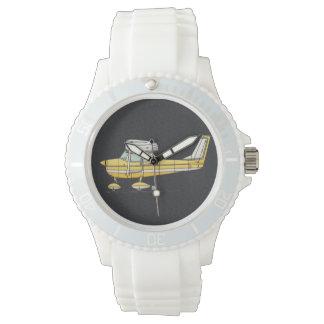 かわいく小さい飛行機 腕時計
