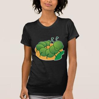 かわいく小さいcatterpillarかわいい tシャツ