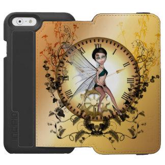 かわいく小さいsteampunkの妖精 incipio watson™ iPhone 6 財布ケース