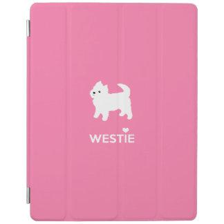 かわいく小さいWestie -西の高地テリア iPadスマートカバー