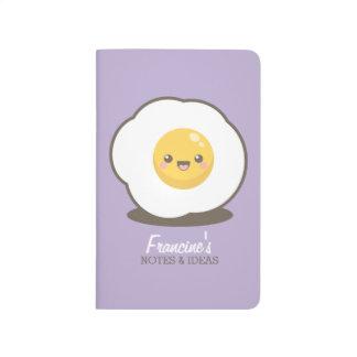 かわいく幸せなかわいいの卵焼きのノート及びアイディア ポケットジャーナル