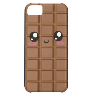 かわいく幸せなミルクのチョコレート・バーのiphone 5の場合 iPhone5Cケース