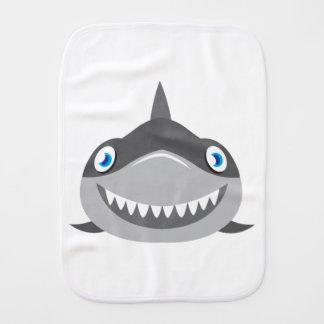 かわいく幸せな鮫の顔 バープクロス